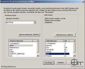 Windows Server 2003 R2: Konfiguration Benutzernamenzuordnung - Neue Zuordnung erstellen