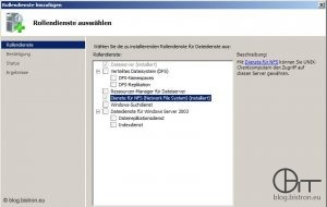 Windows Server 2008/2008 R2: Installation NFS-Server