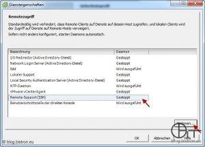 ESXi 4.1: SSH-Zugang über vSphere aktivieren (1)