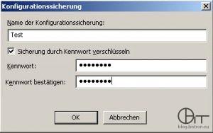 IIS6 Konfigurationssicherung erstellen (2)