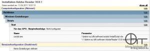 InstallScript - GPO Computer-Startskript - Update Adobe Reader 10.0.1