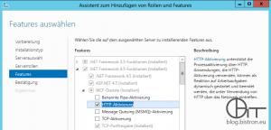 KB3159706 - Feature .Net-Framework 4.5 - HTTP-Aktivierung installieren