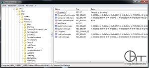 Registrierungsschlüssel Outlook 2010 Standardschritftart