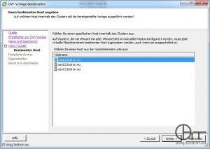 VDR-Installation - Einen bestimmten Host angeben