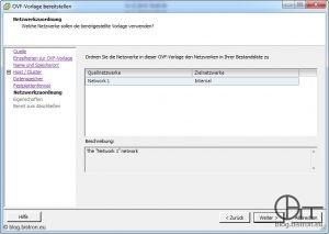 VDR-Installation - Netzwerkzuordnung