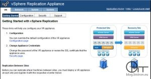 vSphere Replication - Virtual Appliance Management Interface (VAMI)
